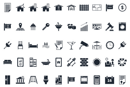Professional Real Estate Icons Pack