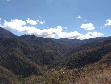 Mountain landscape mid afternoon Фото со стока