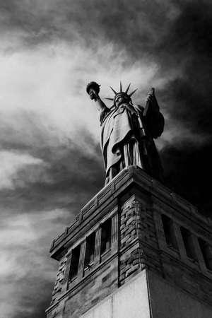 The Liberty Statue Foto de archivo