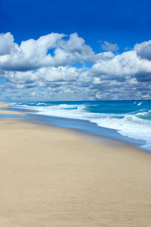 Beautiful Cape Cod beach in Wellfleet,  Massachusetts