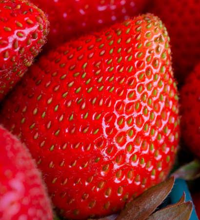 Strawberry close-up