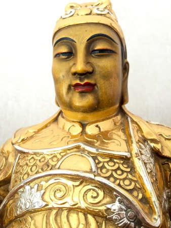 liu: Liu Bei Three Kingdoms Stock Photo