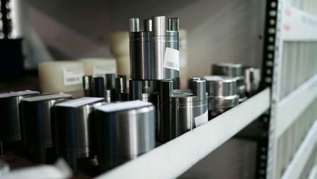 The Shelfs Steel Metal Products with Barcodes
