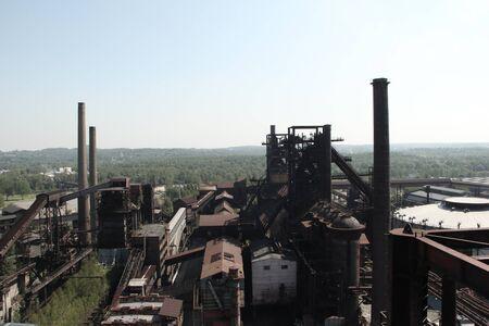Blast furnaces of Vitkovice Iron and Steel Works