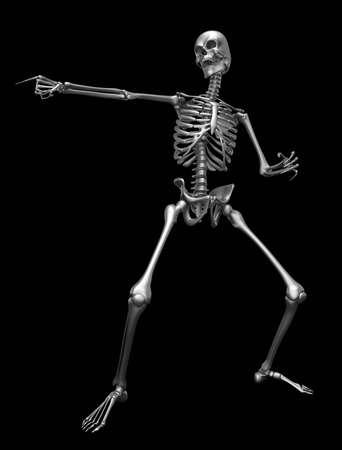 Skeleton - 3D Render Cartoon Character