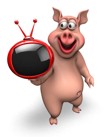 Fun Pig - Animated 3D Character