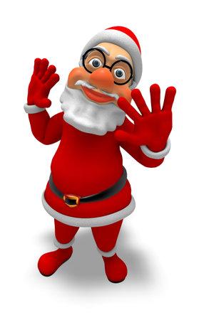 Fun Santa - Cartoon 3D Character