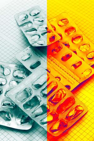 Medicament addiction  Pills dependence