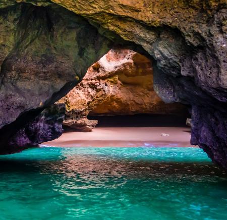 algarve: Mini beach Algarve Stock Photo