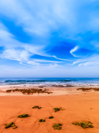 oceana: Coast of Algarve Stock Photo