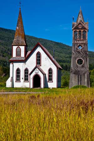 st pauls: Small church somewhere in British Columbia Canada