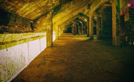 sanitarium: Top floor of an abandoned hospital Madrid Spain