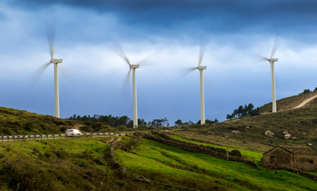 operational: Wind energy fully operational. North of Spain