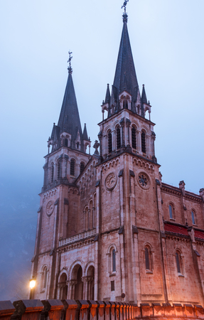 clave: Sanctuary of Covadonga.Photographs updated April 2016