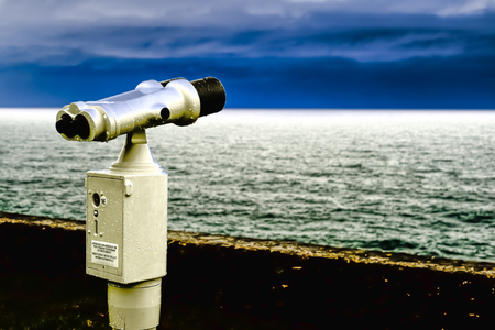 observe: Binocular previous payment able to observe the horizon