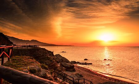 Sunrise on the Costa del Sol, southern Spain