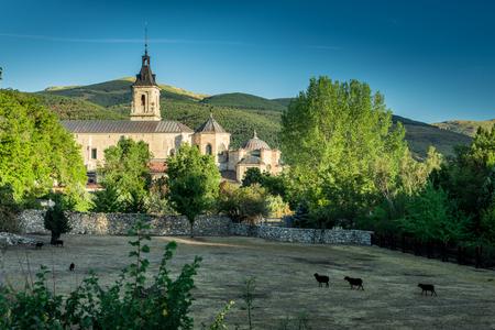 Monastery of Santa María de El Paular . Madrid. Spain.