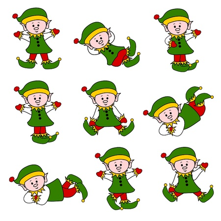 helpers: Xmas Elf lindo conjunto