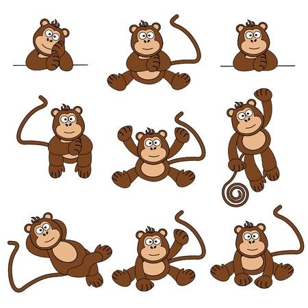 Cheeky Monkey Stock Vector - 9721395