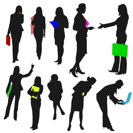 People - Business Women No.2. Vector