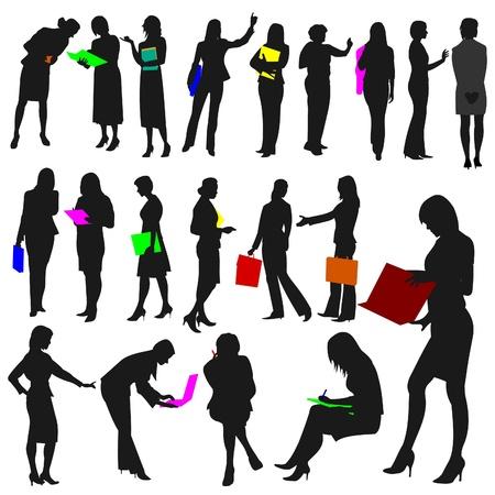 mani che si stringono: Persone - donne al lavoro n. 2.