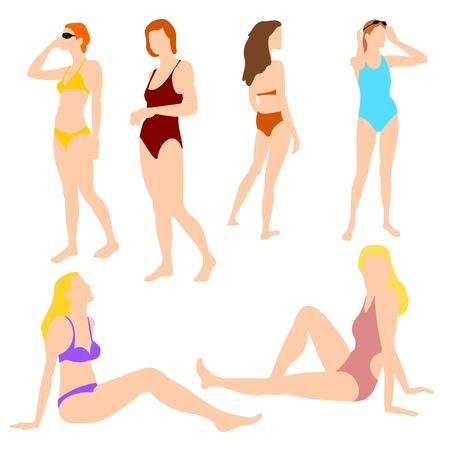 Las mujeres de vacaciones Set 01