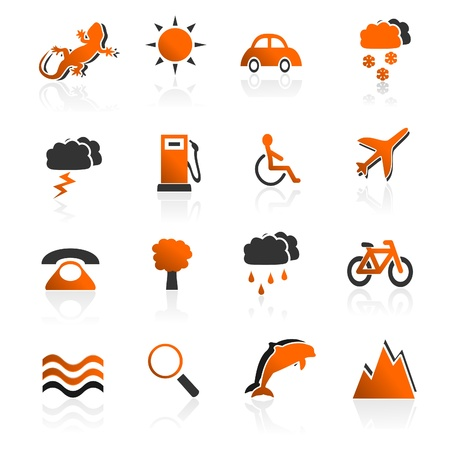 Travel Icons Set 02 Stock Vector - 9805826
