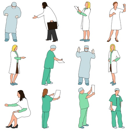 healthcare visitor: People - Professions - Medical