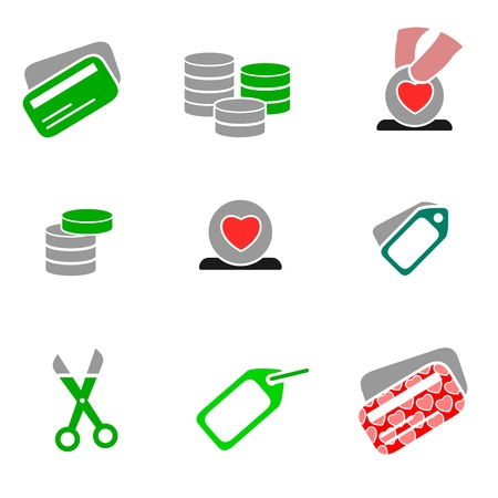 Icons - Shopping 03  Stock Vector - 12007237