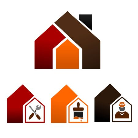 Icons - Home Decorating Stock Vector - 12007240