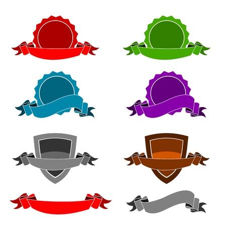 escarapelas: Iconos - Certificados y cintas