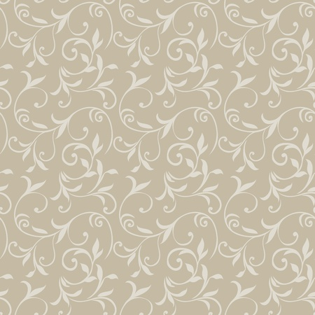 wallpaper pattern: Seamless Floral Pattern 08 Illustration