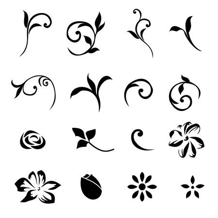 Design Elements Floral Set 01