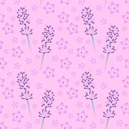 Seamless Floral Pattern 10 Vector