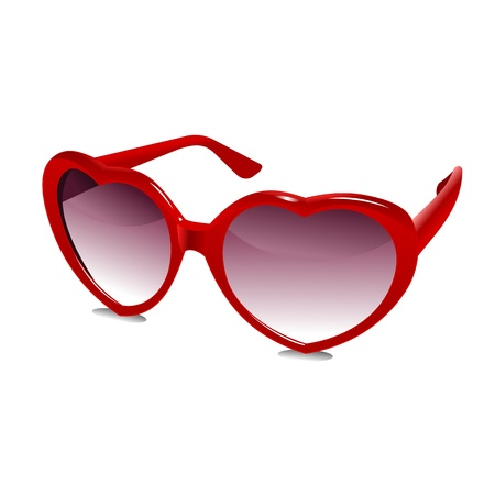 3D Sun Glasses 03 Vector