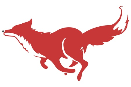 Running Fox Icon 03