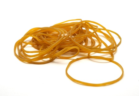 stretchy: Pile of rubber bands