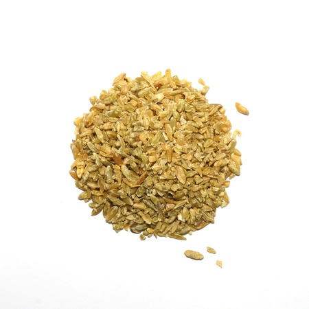 dried food: Dried Food - Cracked Wheat Stock Photo