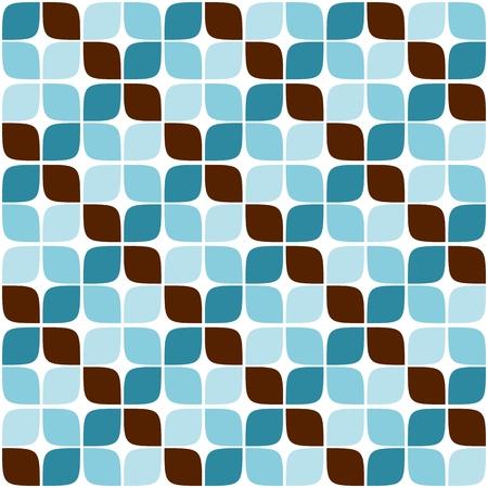 03: Seamless Retro Geometric Pattern 03