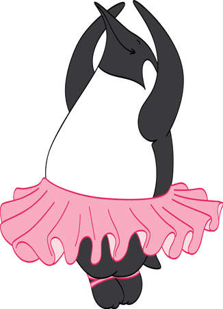 animal tutu: Ballerina Penguin