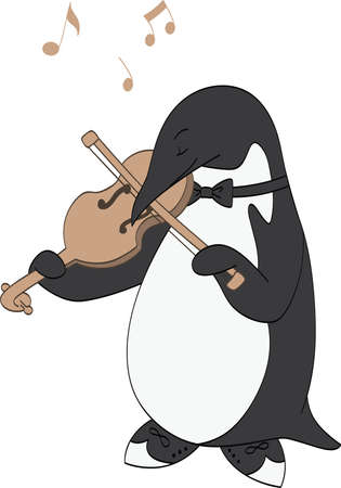 Penguin Loves Music