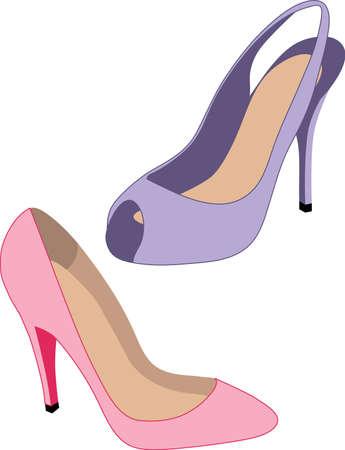 peep toe: Hot Heels