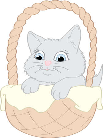 Cute Kitten Stock Vector - 16512858