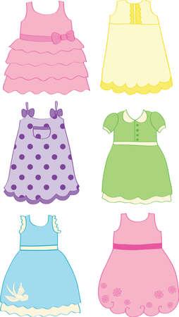 blue dress: Little Dresses