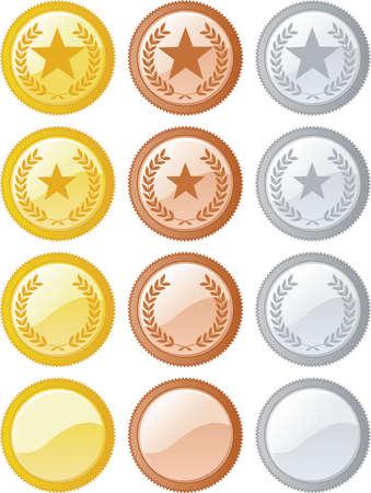 silver fern: Rank Icons