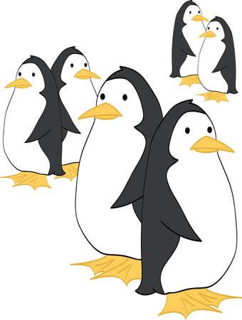 Penguin Couples