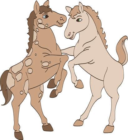Sister Horses
