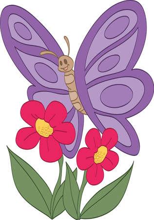 Gelukkig Vlinder