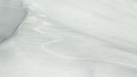 ski traces: track left by the skis in the snow