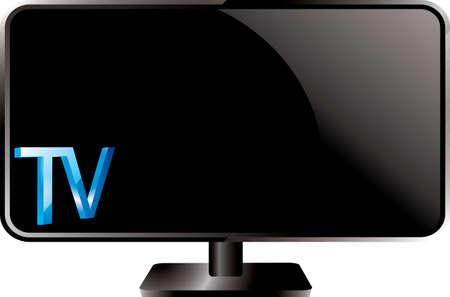 cartoons television: plasma TV